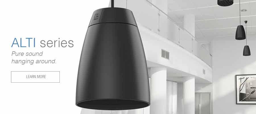AUDAC Releases ALTI – Pendant loudspeakers