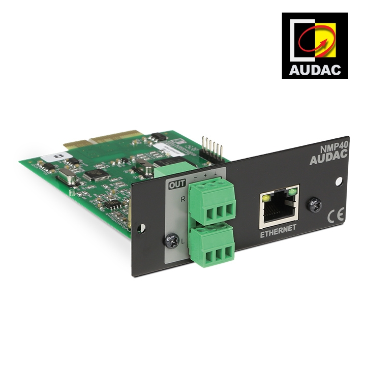 NMP40 - Audio Streaming SourceCon™ Module  by AUDAC