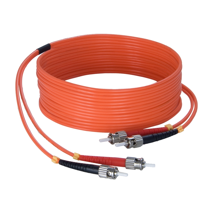 FBS125 Fiber optic cable - st/pc - st/pc - LSHF