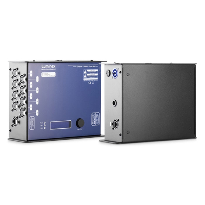 Ethernet DMX8 with Truss and PoE Input