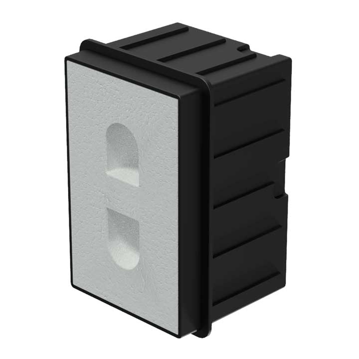 WMM20 In-wall box for MERO2 for concrete/brick wall