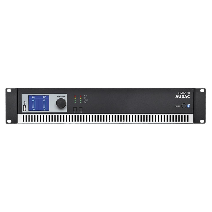 SMA500 WaveDynamics™ dual-channel power amplifier 2 x 500W