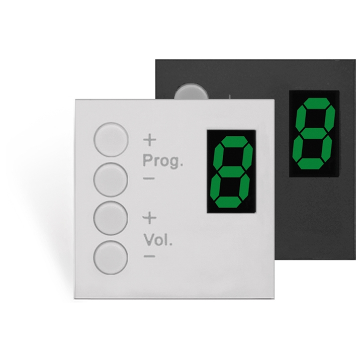 MWX45 MTX wall panel controller 45 x 45 mm