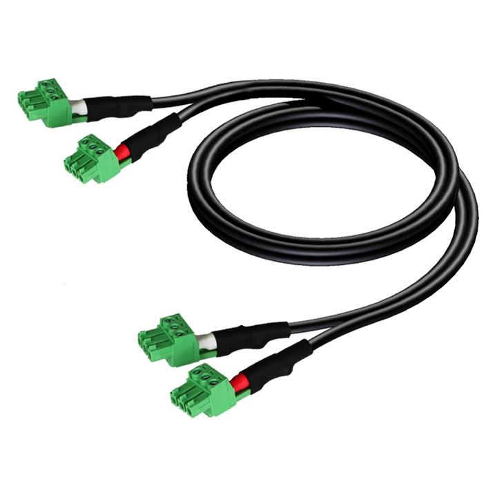 CLA830 2 x terminal block - 2 x terminal block (3p - 3.81mm)