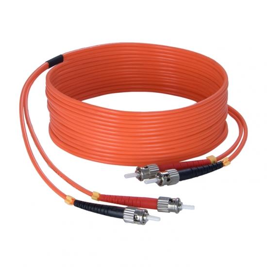 FBS125 Fiber optic cable - st/pc - st/pc - LSHF