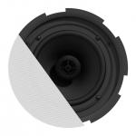 "CIRA7 QuickFit™ 2-way 6.5"" ceiling speaker with TwistFix™ grill"