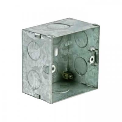 WB3102/FS Wall mounting box Flush mount - solid wall